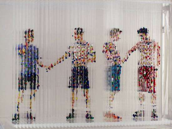 Acrylic Rod Sculptures