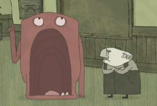 Animated Monster Shorts