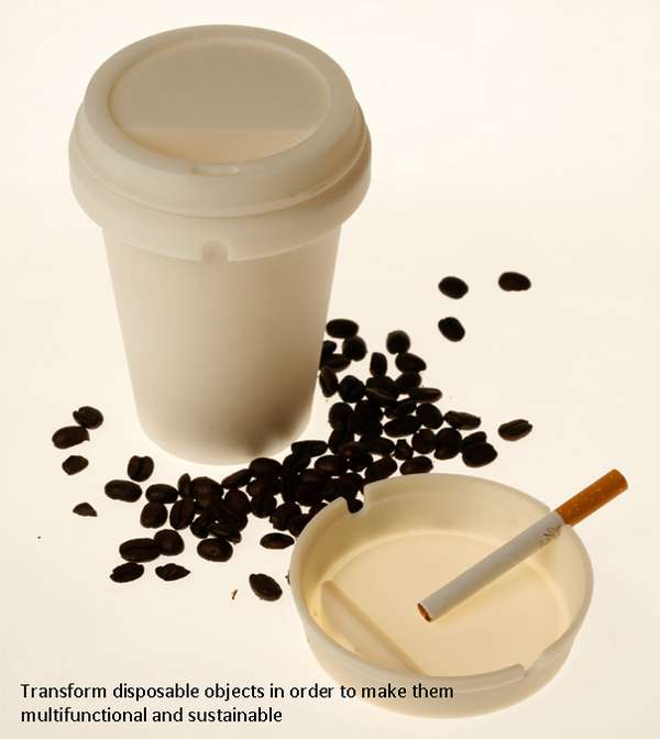 Dual-Purpose Disposable Cups