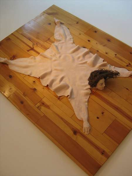 Human Skin Rugs