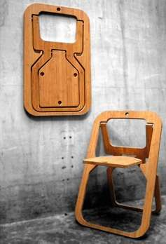 Christian Desile Folding Chair