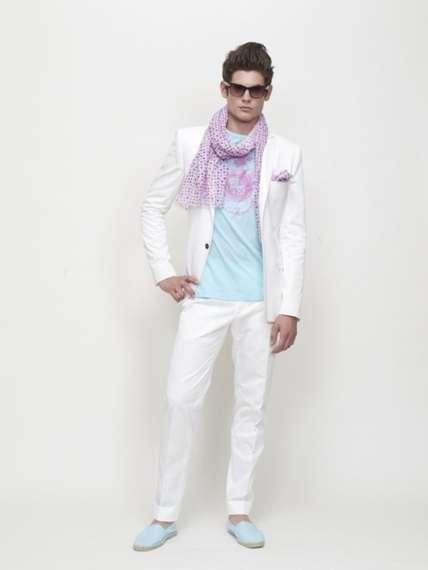 Modern 'Miami Vice' Fashion