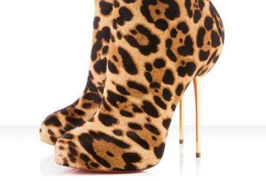Fierce Leopard Heels