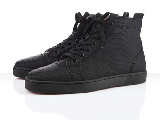 Scaly Serpentine High-Tops