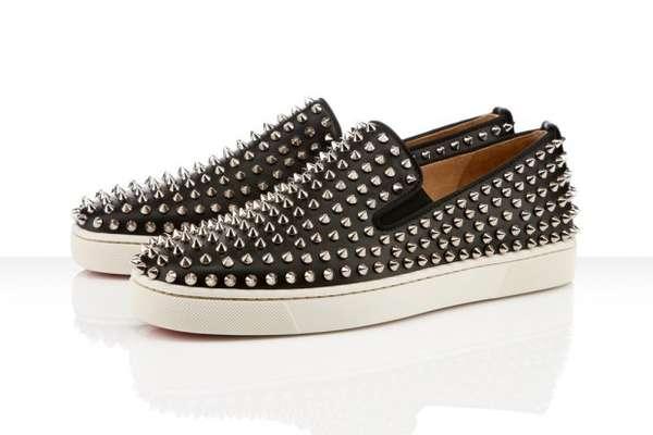 Sharp Sneaker Slip-Ons