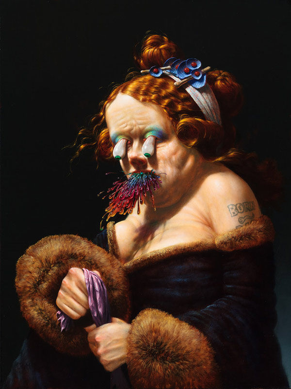 Grotesque Psychedelic Paintings