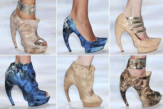 Printed Satin Booties