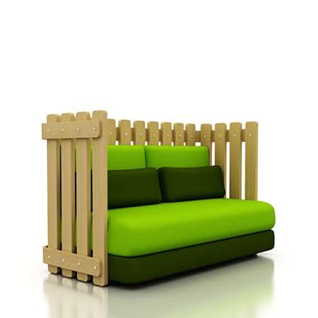 Fenced-In Sofas
