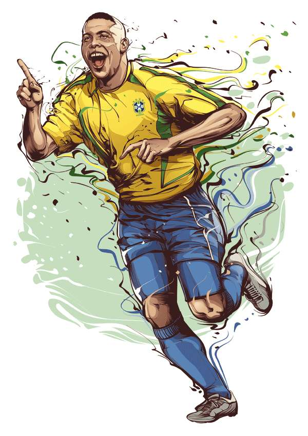 Christiano Siqueira Football Legend Illustrations