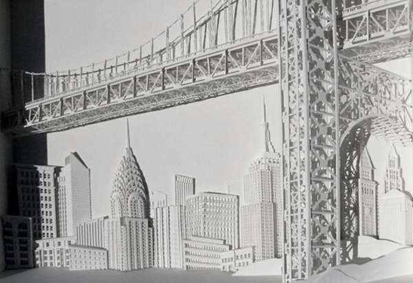 Iconic Papercraft Architecture