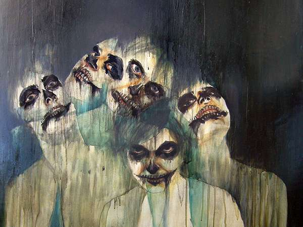 Haunting Nightmare-Inducing Paintings