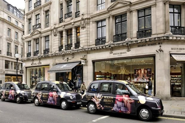 Festive Scented Taxi Cabs