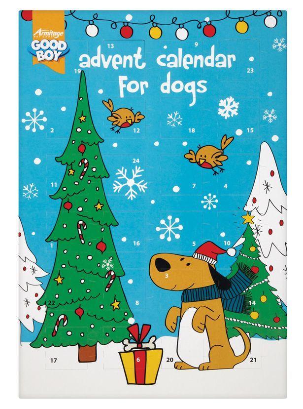 Dog Treat Advent Calendars