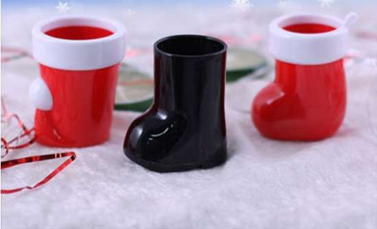Santa Boots Booze Cups