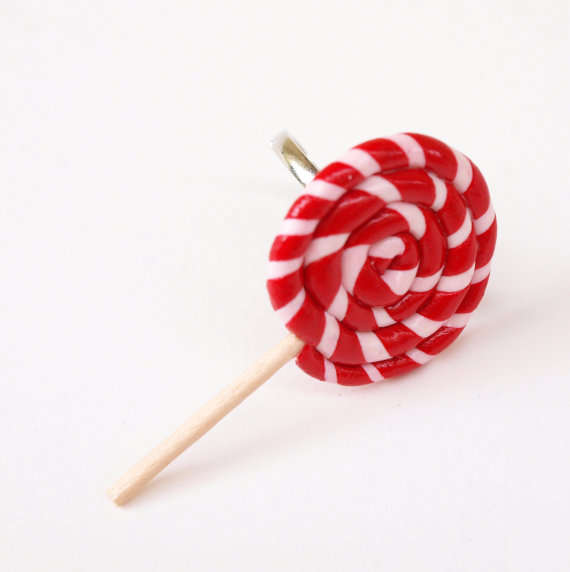 Christmas Lollipop Ring