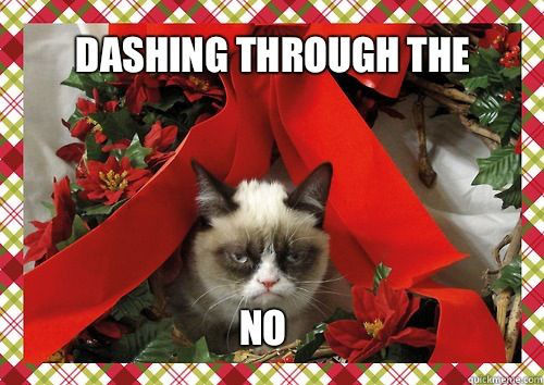 Cranky Cat Christmas Movies