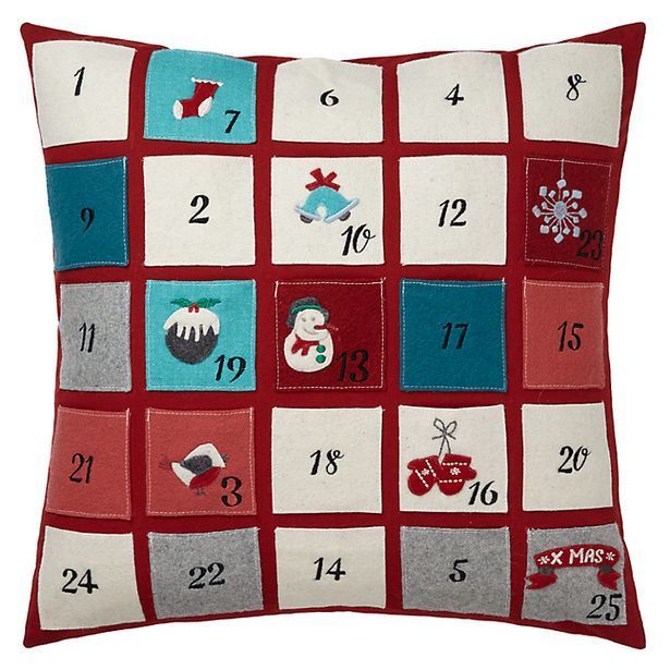 Christmas Countdown Pillows