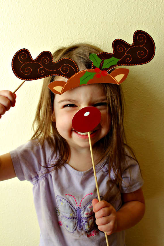 Christmas Photo Booth Decals