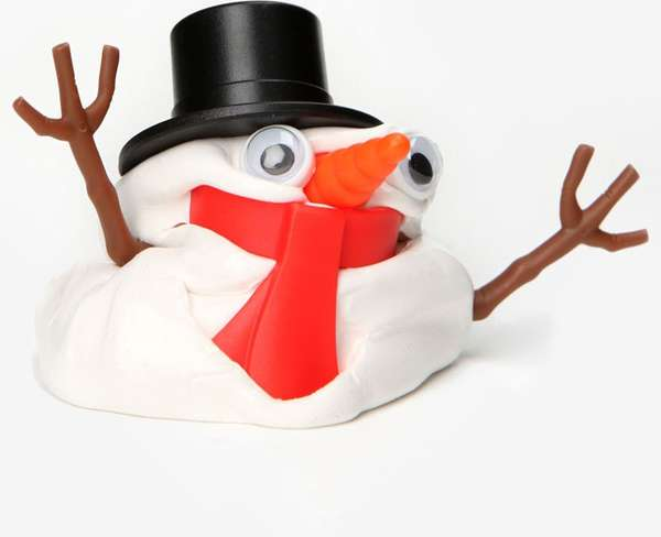 Melting Holiday Sculptures