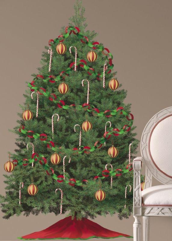 Adhesive Holiday Decor