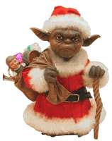Christmas Yoda