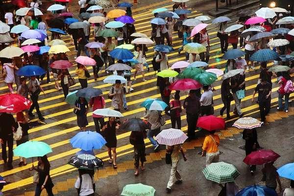 Peculiar Precipitation Pictures