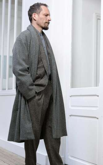 Neutral Over-Sized Menswear