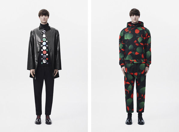 Atom-Infused Menswear Attires