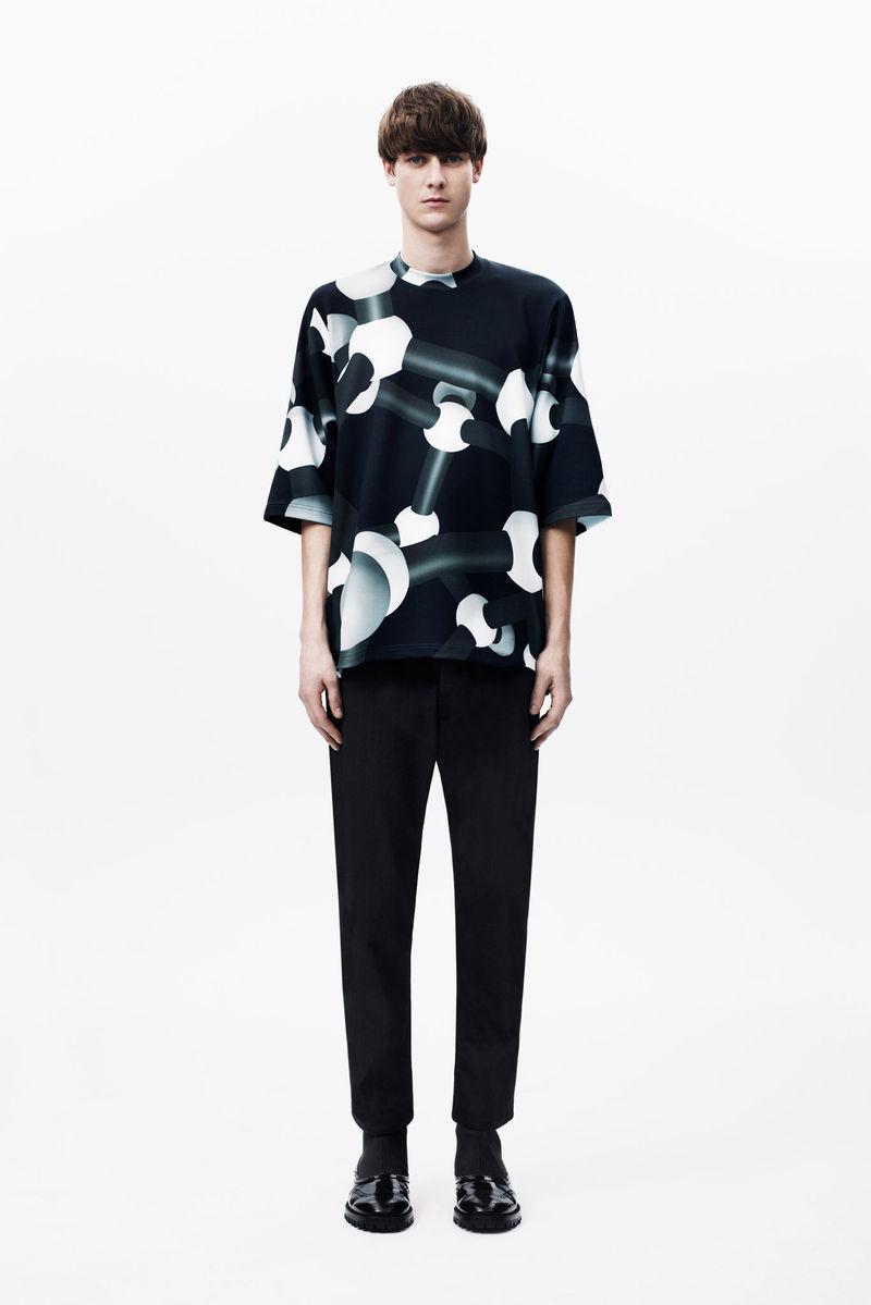 Molecular-Inspired Menswear