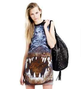 Screaming Croc Shift Dresses