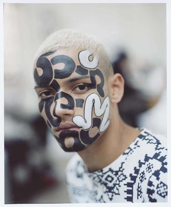 Face Graffiti Lookbooks
