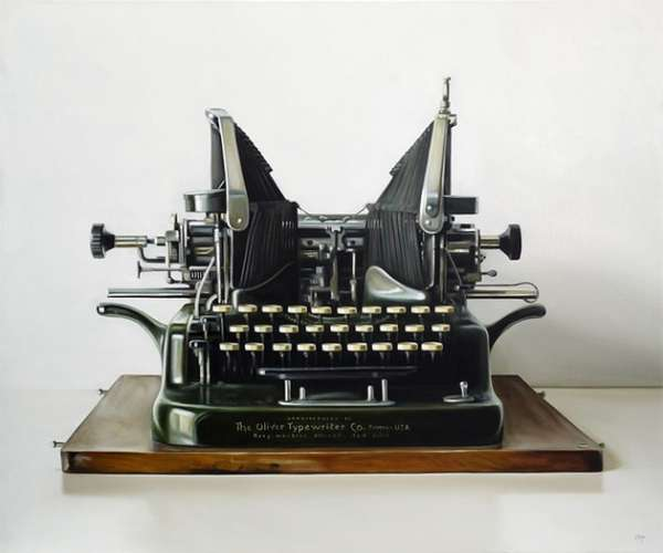 Realistic Typewriter Renderings