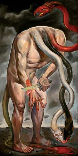 Disturbing Dragon Art