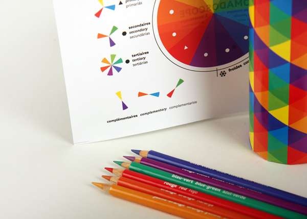 Chromadoscope Colored Pencil Packaging