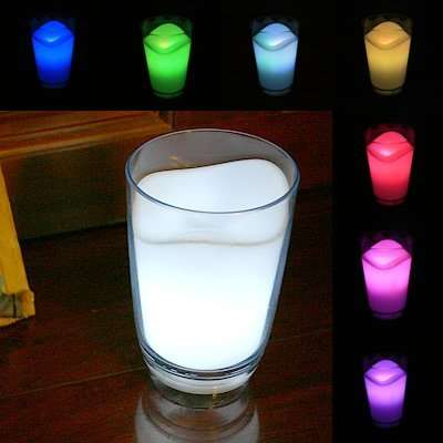 Technicolor LED Beverages
