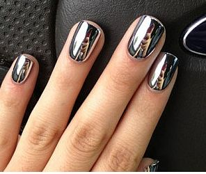 Mirrored Metal Manicures