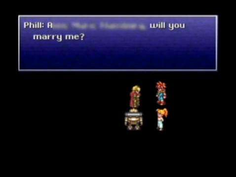 RPG Marriage Proposals
