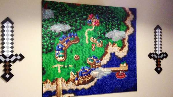 Chrono Trigger Wall Art