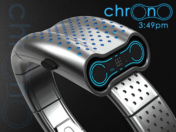Sleek Serpentine Chronographs