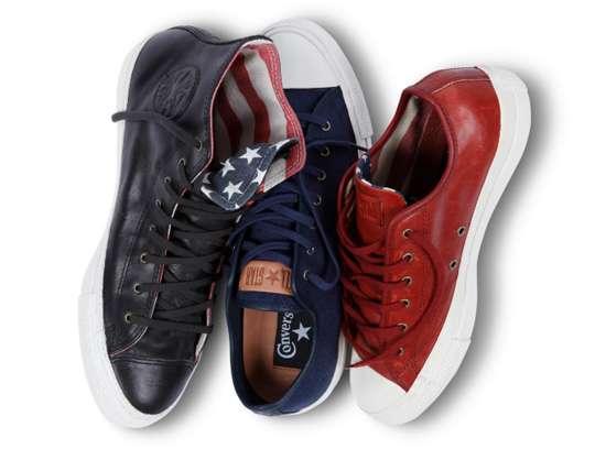 Patriotic Converse Creations