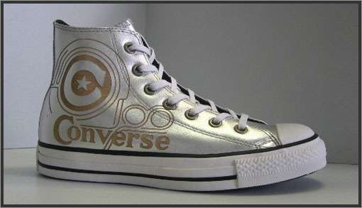 6 Converse Shoe Designs + Gold Chuck Taylor All Stars