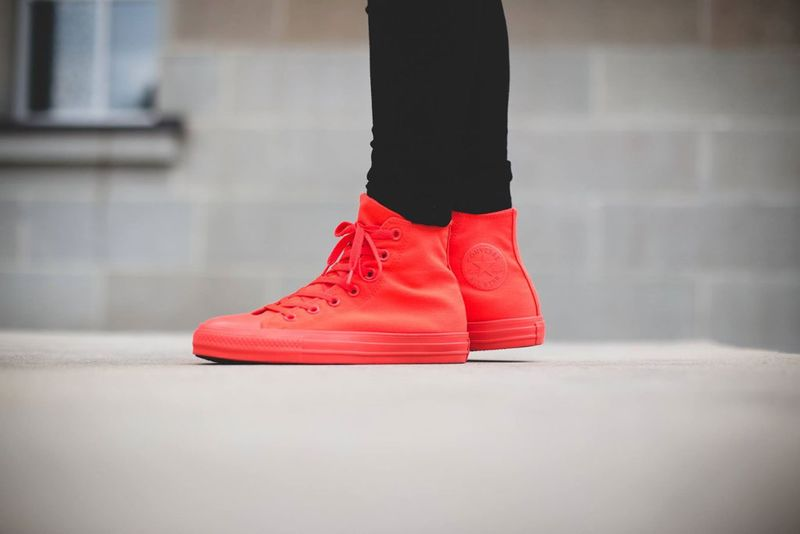 Chromatic Red Sneakers