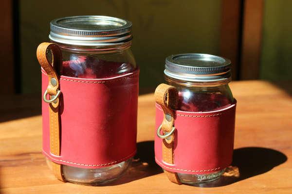 Portable Mason Jar Sleeves