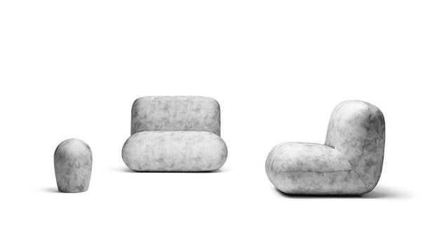 Pudgy Upholstered Perches