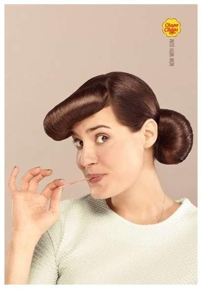Chewy Lollipop Ads
