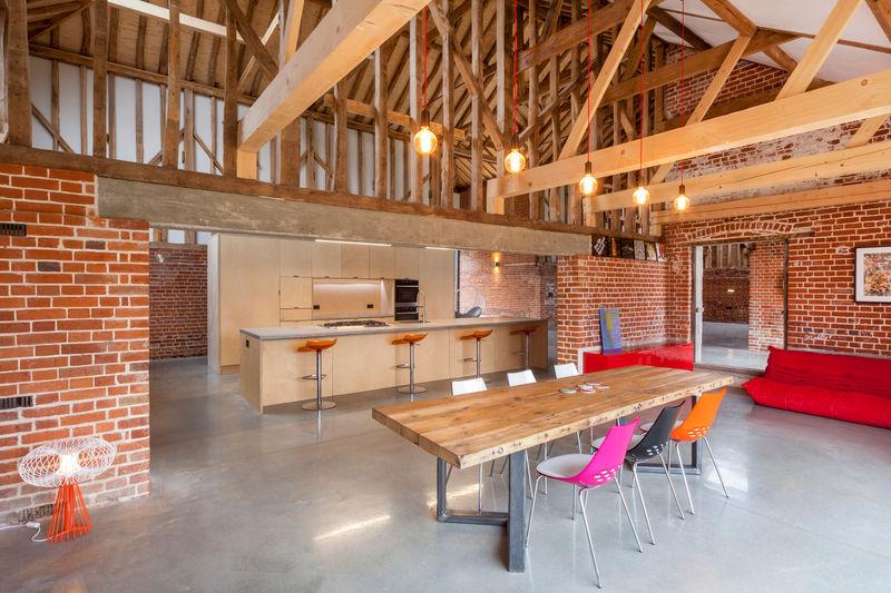 Brick Barn Homes