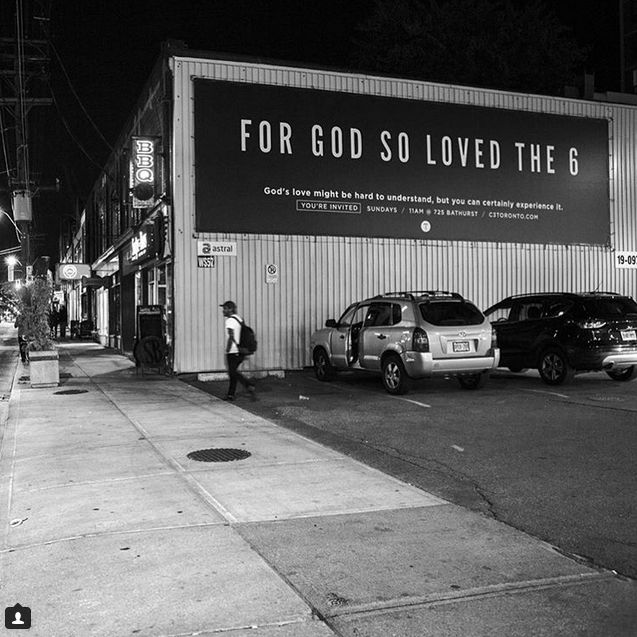 Rapper-Referencing Religion Billboards : church sign
