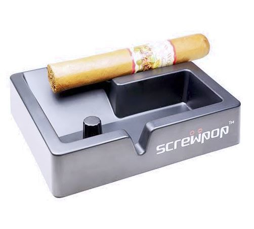 Ergonomic Cigar Ashtrays