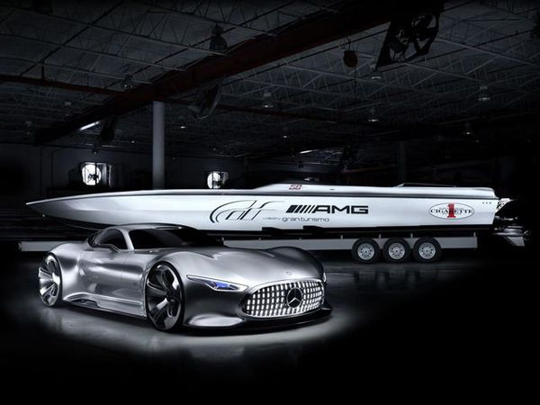 Luxe Gamer Racing Boats