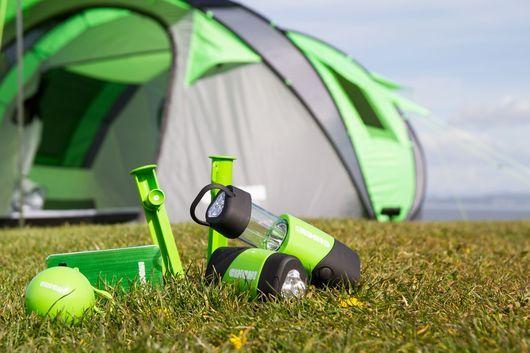 Pop-Up Solar Tents